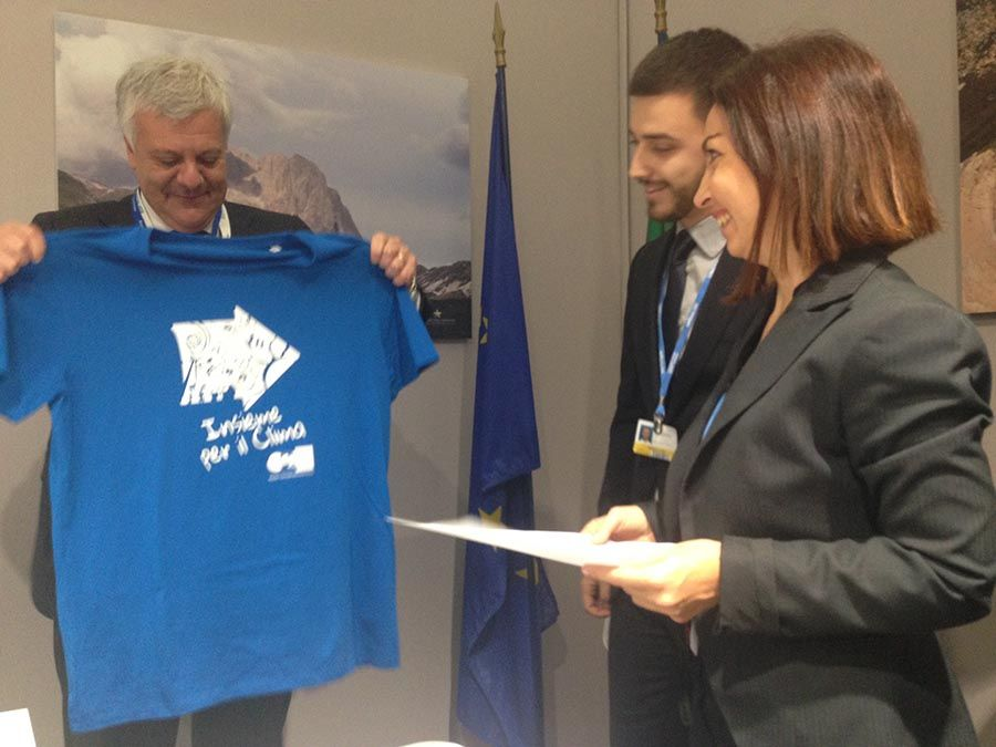 UNFCCC COP21 Paris Galletti Minister of the Environment for Italy